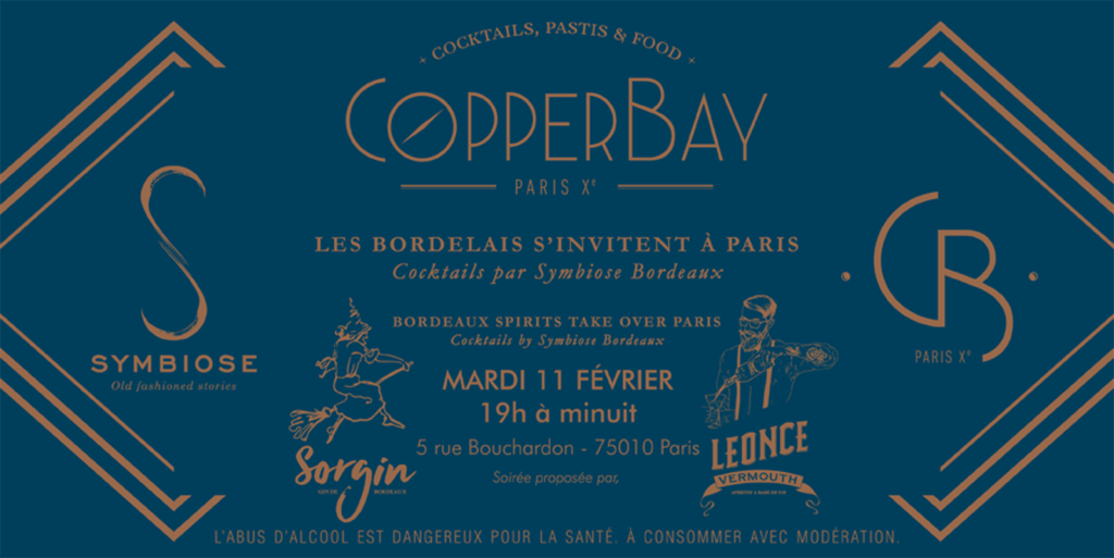 INVITATION SYMBIOSE BDX AU COPPERBAY PARIS - SORGIN - LEONCE
