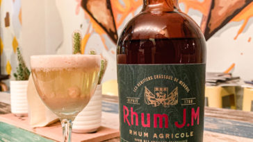 Rhum JM - Jardin Fruité - Cocktail Mabel