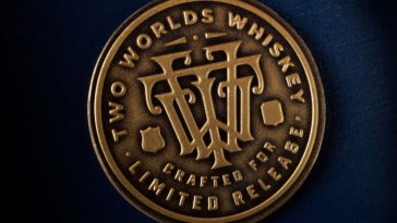 Two Worlds Whiskey Medallion