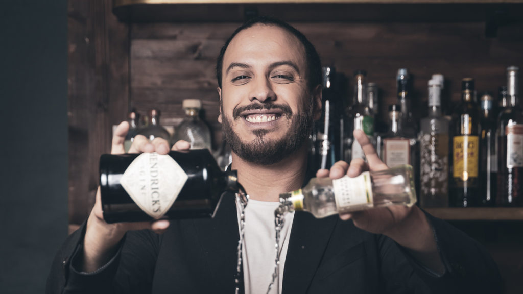 Jesus Ernesto, brand ambassadeur de la marque de mixer The London Essence